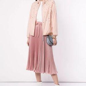*In Season* Red Valentino Pleated midi skirt